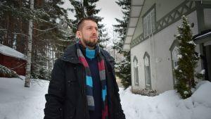 Jyväskyläläinen konstaapeli Toni Norppa.