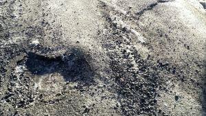 Kuoppa asfaltissa