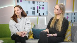 Terhi Kokkonen ja Anna Äärelä