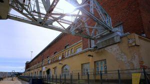 Lars Sonckin suunnittelema L3-makasiinirakennus valmistui vuonna 1924.