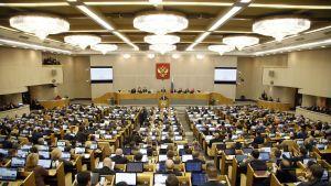 Venäjän parlamentin duuma kokoontui 11. huhtikuuta.