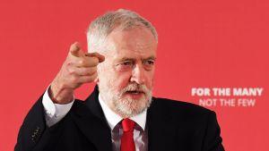Työväenpuolueen johtaja Jeremy Corbyn