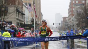 Yuki Kawauchi, Bostonin maraton.