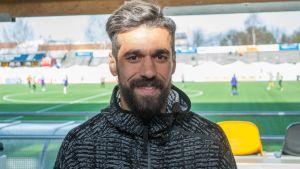 Egyptiläinen jalkapalloilija Abdalla El Said.