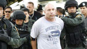 Entinen kersantti Joseph Hunter pidätettiin Thaimaassa vuonna 2013 epäiltynä huumausainerikoksista.
