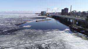 Näsijärven jäätilanne