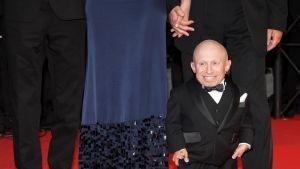 Näyttelijä Verne Troyer Cannesin elokuvajuhlilla toukokuussa 2009.