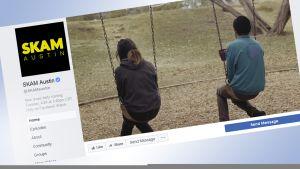 Kuvakaappaus SKAM Austinin Facebook sivulta