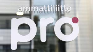 Ammattiliitto Pron toimisto Helsingin Ruoholahdessa perjantaina 3. marraskuuta 2017.