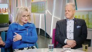 Päivi Niemi-Laine ja Olli Luukkainen