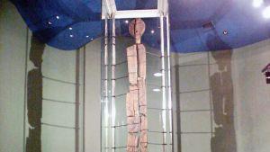 Shigir -patsasta säilytetään museossa Jekaterinburgissa.