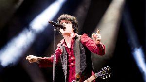 Green Day -yhtyeen laulaja Billie Joe Armstrong tunnetaan kärjekkäistä mielipiteistään.