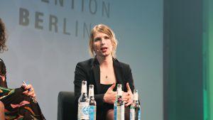 Chelsea Manning puhui keskiviikkona ensimmäistä kertaa ulkomailla vapautuksensa jälkeen.