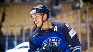 Mikko Rantanen jääkiekon MM-kisoissa vuonna 2018.