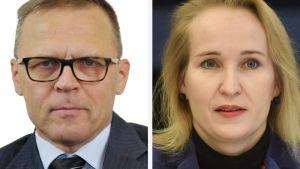 Matti Harjuniemi ja Minna Helle.