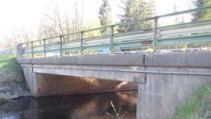 Tuorijoen silta Tuorilassa Merikarvialla.