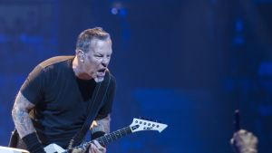 Metallica, Hartwall Arena, James Hetfield