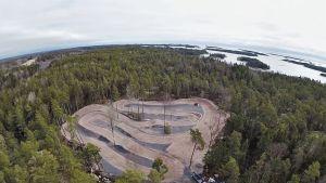 Kimi Räikkösen motocrossrata Porkkalassa