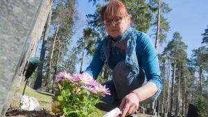 Kesätyöntekijä Taina Pouta