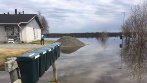 Ounasjoki Kittilä tulva