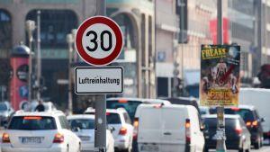 Nopeusrajoituksia Berliinissä