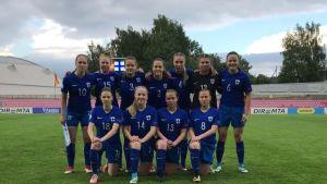 Pikkuhelmarit, tyttöjen U17-joukkue EM-välierissä
