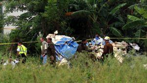 Havannan lähellä sattuneen lento-onnettomuuden tutkinta alkoi perjantaina.