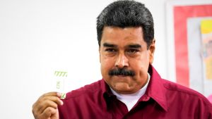Venezuelan presidentti Nicolás Maduro