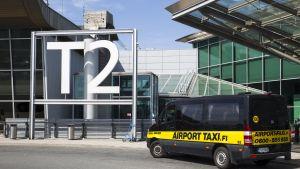 Takseja lentokentällä