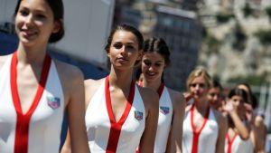 Varikkotytöt Monaco 2017