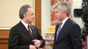 Vitali Mutko ja Pavel Kolobkov