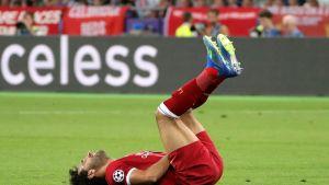 Mohamed Salah kuvassa