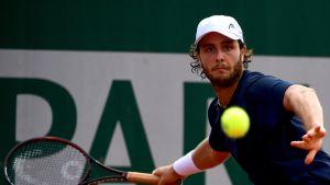 Marco Trungelliti voitti Ranskan avointen ensimmäisen kierroksen ottelunsa.
