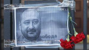Venäläinen journalisti Arkadi Babtšenko ammuttiin tiistaina kuoliaaksi Kiovassa, Ukrainassa.