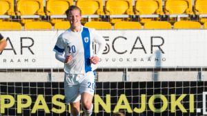 Miko Virtanen kuuluu U19-maajoukkueen pelaajiin.