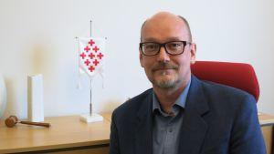 Juha Nevalainen, toiminnanjohtaja, SPR Lapin piiri