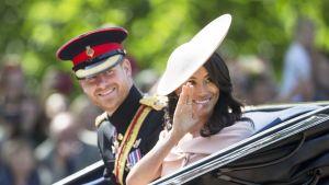 Sussexin herttuapari 9. kesäkuuta.