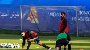 Iran on hionut kuvioitaan viime päivät Lokomotivin harjoituskeskuksessa.