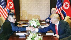 Kim Jong-un ja Donald Trump tapaavat Singaporessa.