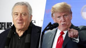 Robert De Niro  ja Donald Trump