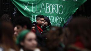 Mielenosoitus Argentiinassa