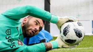 Portugalin ykkösmaalivahti Rui Patricio lähti menemään turbulenttisestä Sportingista.