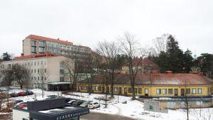 Auroran sairaala Helsingissä.