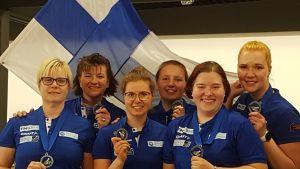 Suomen keilailujoukkue