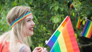 Kokkola Pride alkoi lauantaina puistopiknikillä.