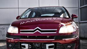 Punainen VTT:n koeauto