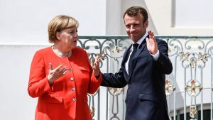 Angela Merkel ja Emmanuel Macron