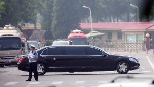 Kim Jong-unin auto