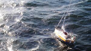 Kuvan purjevene ei liity onnettomuuteen.