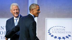 clinton ja obama
